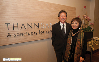 L – R:  Mr. & Mrs. Hiro Kinoshita – Principal KTGY Group - Architect.