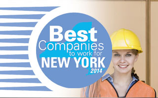 Best Companies to Work for in New York State 2014