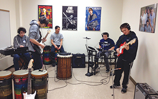 Briarcliff Middle School Music Lab
