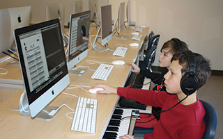 There's music to be made at the Briarcliff Middle School.