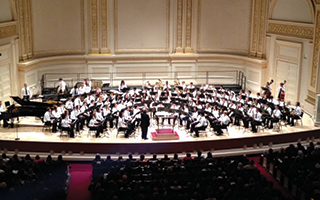 2014 High School Honors Performance Band performs at Carnegie Hall