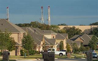 Drilling in Mansfield Texas