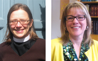 Reverend Sandra Seaborn and Rabbi Jennifer Jaech
