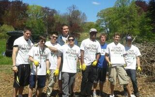 volunteers I love my park day