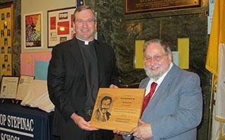 Father Thomas Collins Ron Tedesco