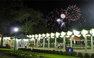 Fireworks at Rye Playland