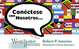 Conectese con nosotros westchester county