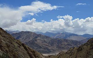 Himalayan Mountains Hands of Help