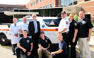 Fly Cars donated by Phelps Hospital