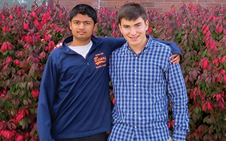 Briarcliff High School Junior  Karthik Rao and Senior Robert Karp have advanced to the regional finals of the Siemens Competition in Math, Science & Technology.