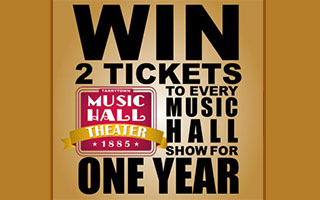 Tarrytown Music Hall Ticket Raffle