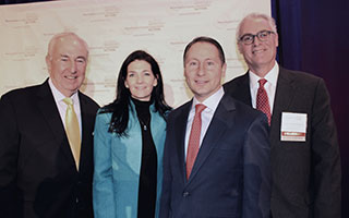 William Mooney, Jr., WCA CEO; Marissa Brett, WCA President; Westchester County Executive Robert P. Astorino; and William Harrington, Esq., WCA Chairman.