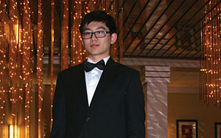 Briarcliff High School's Edwin Zhou, an all-state flutist, performed at the NYSSMA Winter Conference in Rochester.