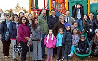 Ginsburg Playground donation