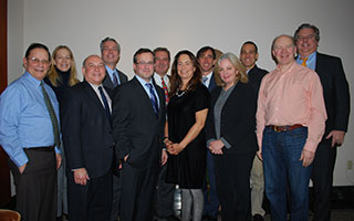 Board members (left to right) include: Herb Oringel, former chair of NWEAC; Sara Goddard, Chair, Rye Sustainability Committee; Christopher Burdick, Supervisor, Town of Bedford; Tom Roach, Mayor, City of White Plains; Dan Chorost, Partner, Sive, Paget & Riesel; Michael Spano, Mayor, City of Yonkers; Nancy Seligson, Supervisor, Town of Mamaroneck; Noam Bramson, Mayor, City of New Rochelle; Laura Rossi, Senior Program Officer, Westchester Community Foundation; Camilio Patrignani, CEO, Greenwood Energy; Michael Gordon, CEO, Joule Assets; and Peter McCartt, former chair of SWEAC, chair of Eastchester Environmental Committee.