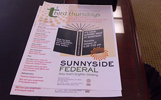 Sunnyside Third Thursday Flyer