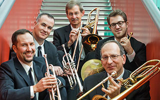 American Brass Quintet will perform for Friends of Music Concerts on May 2 at Sleepy Hollow High School's Kusel Auditorium.