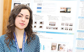 Junior Dominique Marchini won first place in her category at this year's  Westchester Science and Engineering Fair.