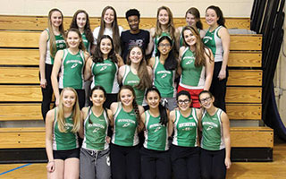 The Irvington girls winter track team was crowned the  NYSPHSAA Scholar-Athlete State Champions.