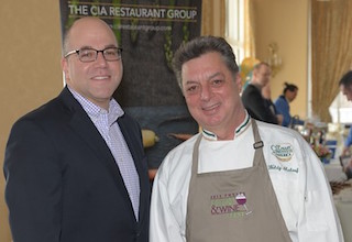From Left to Right: Phelps President and CEO, Daniel Blum. World renowned chef, Waldy Malouf.