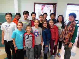 Briarcliff Middle School's Mathletes earned Merit Roll recognition, and several individual awards, in the American Mathematics Competition.