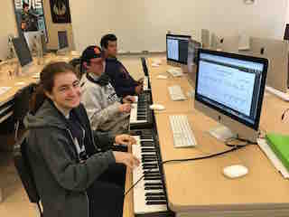 Cloud-based music learning platform MusicFirst is inspiring students at Briarcliff Middle and High School to compose their own music regardless of their prior knowledge about composing.
