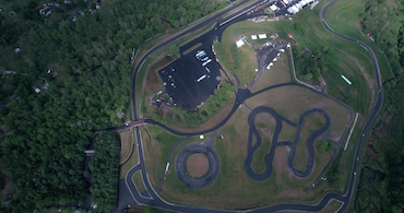 Lime Rock Park seen from above