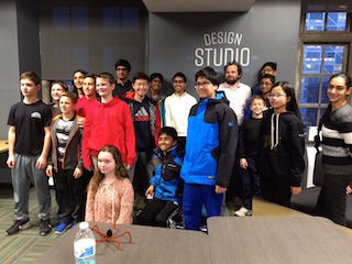 Members of Briarcliff Middle School's Entrepreneur's Club visited Columbia University's design school to participate in a design thinking workshop.