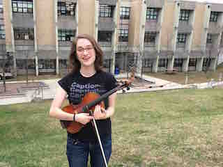 Irvington High School senior Clara Montgomery has been selected to perform with the 2017 All-Eastern Honors Orchestra.
