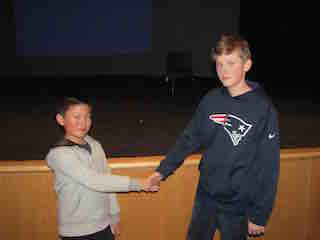 Andrew Zhou and Killian Daly
