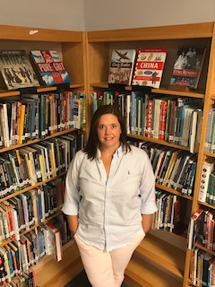 Briarcliff Manor Library Media Specialist Teka McCabe is serving on the prestigious Printz Award Committee