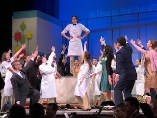 The BHS spring musical, How to Succeed, took a satirical look at the workplace.