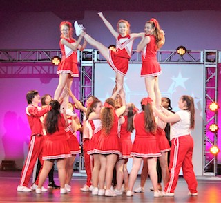 OHS students performed Bring It On: The Musical in a dress rehearsal March 22.