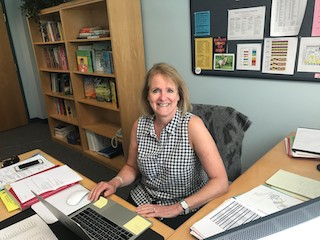 Todd Elementary School's new principal, Colleen O'Neill-Mangan