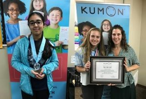 Riya Raina Anna Brijeski Kumon Awards