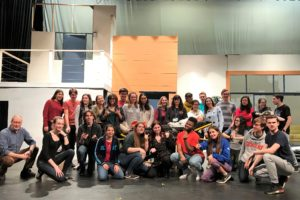 Cast of Romeo and Juliet with Ian Driver