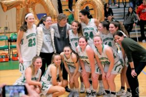 Coach Gina Maher's 700th Win Irvington