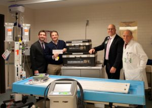 From left to right: Barry Geller, MD; Tony Iraola: Dan Blum and Emil Nigro, MD