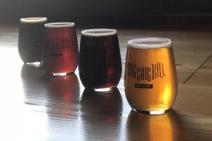 flight at Sing Sing Kill Brewery Ossining