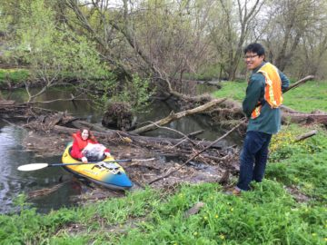 GWHV 10th Annual Great Saw Mill River Cleanup – River