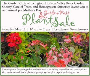 Garden Club of Irvington Plant Sale and Garden fair – River