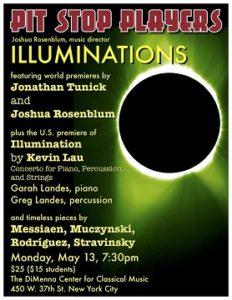 Pit Stop Players, Illuminations