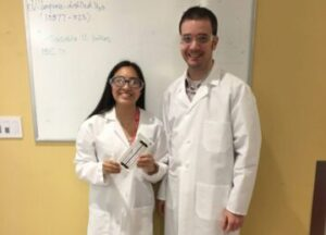 Xia Saavedra and Jeff Staples, Regeneron