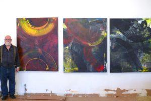Antonio Alvarez and his paintings
